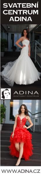 Svatební šaty Adina