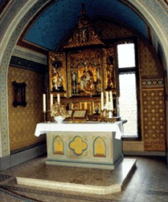 svatební kaple na zámku