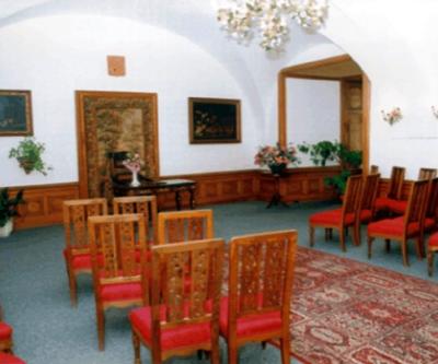 svatební síň na zámku