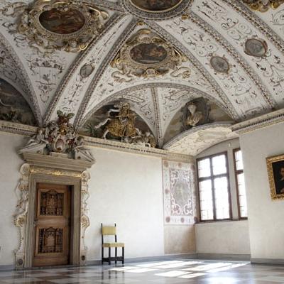 Císařský sál zámku Bučovice (Foto: Miroslav Šubrt)