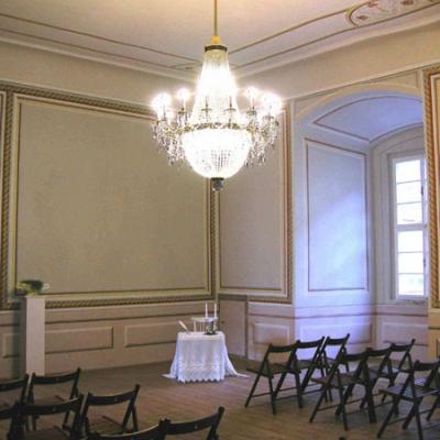 Svatební síň rosického zámku