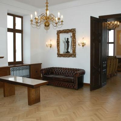 Předobřadní místnost Hustopeče (Foto: Petra Strohová)
