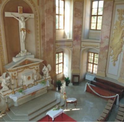Zámecká kaple sv. Kříže