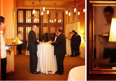 Svatební hostina v Restauraci Žofín Garden