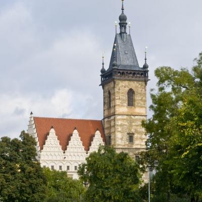 Novoměstská radnice (autor fota Vladimír Tyl)