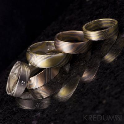 snubní prsteny Kredum