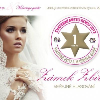 svatební místo roku 2012