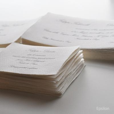 Epsilon - svatební tiskoviny