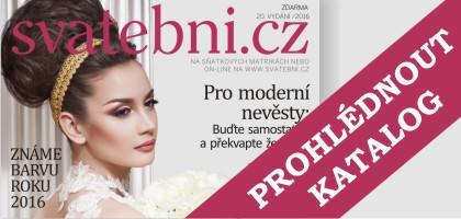 Aktuální číslo katalogu Svatebni.cz